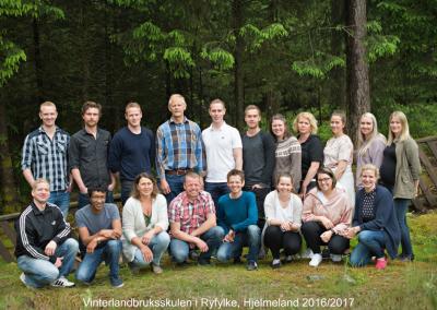 Hjelmeland 2016 – 2017